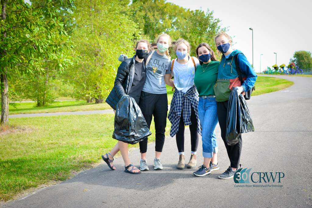 Volunteers participating in the 2020 Watershed Wide CleanUP